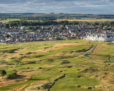 Carnoustie 15th Hole