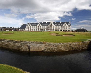 Carnoustie Hotel 18th Hole